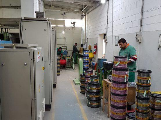 Setor de medição de cabos - ALLCAB